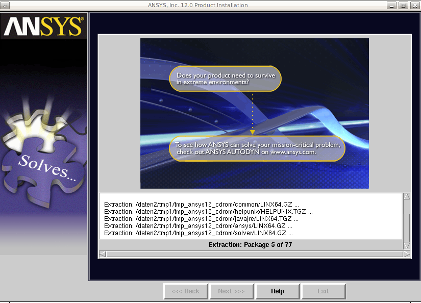 how to run script in ansys workbench